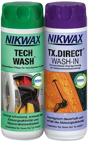 Nikwax Tech Laver et TX Direct Twin Set