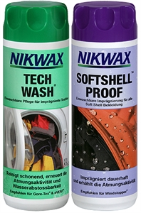 Tech Wash® 300ml und SoftShell Proof 300ml